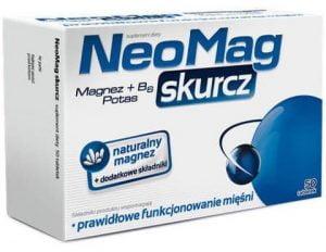 NeoMag Skurcz Magnez + witamina B6 + Potas 50 tabletek Ciało