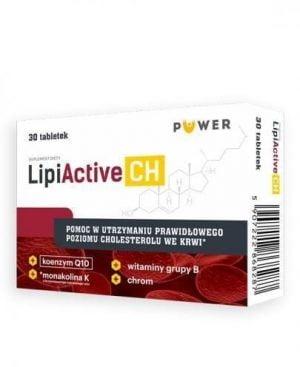 Puwer LipiActive CH 30 tabl cholesterol Ciało