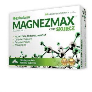 MAGNEZMAX Citri SKURCZ magnez potas witamina B6 30 tabletek Ciało