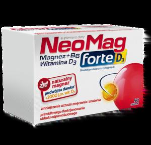 NEOMAG FORTE D3 MAGNEZ D3 50 TABLETEK Ciało